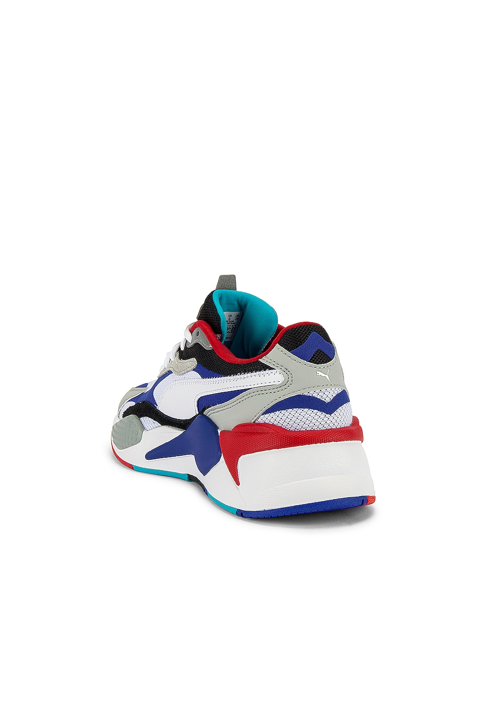 Image 3 of Puma Select RSX Cube RS-X3 Puzzle in Puma White & Dazzling Blue