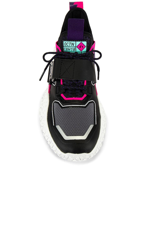 Image 4 of Puma Select Hi OCTN x NFS in Puma Black & Puma White & Pink Glo