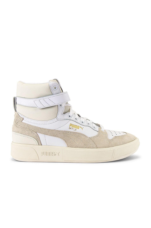 Image 2 of Puma Select Sky LX Mid Lux Sneaker in Puma White & Whisper White