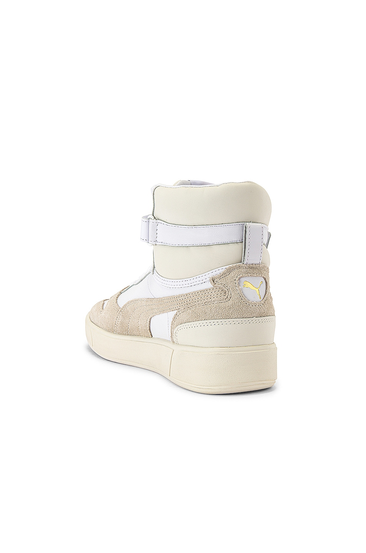 Image 3 of Puma Select Sky LX Mid Lux Sneaker in Puma White & Whisper White