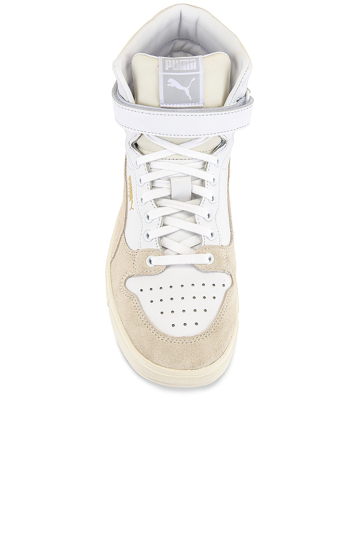 Image 4 of Puma Select Sky LX Mid Lux Sneaker in Puma White & Whisper White
