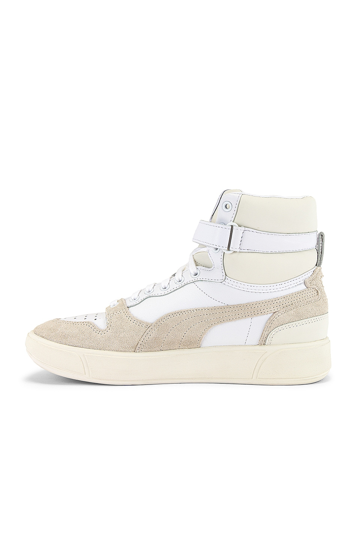 Image 5 of Puma Select Sky LX Mid Lux Sneaker in Puma White & Whisper White