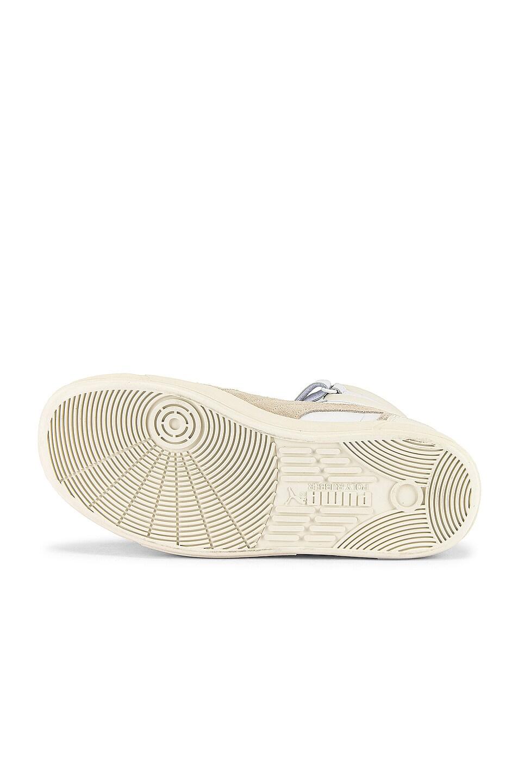 Image 6 of Puma Select Sky LX Mid Lux Sneaker in Puma White & Whisper White
