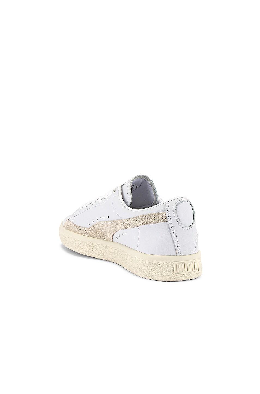 Image 3 of Puma Select Basket 90680 Lux Sneaker in Puma White & Whisper White