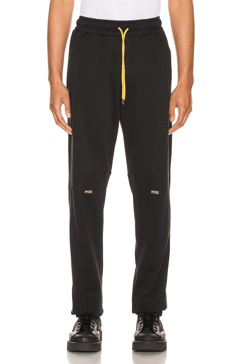 Image 1 of Pyer Moss College Slouch Pant in Black