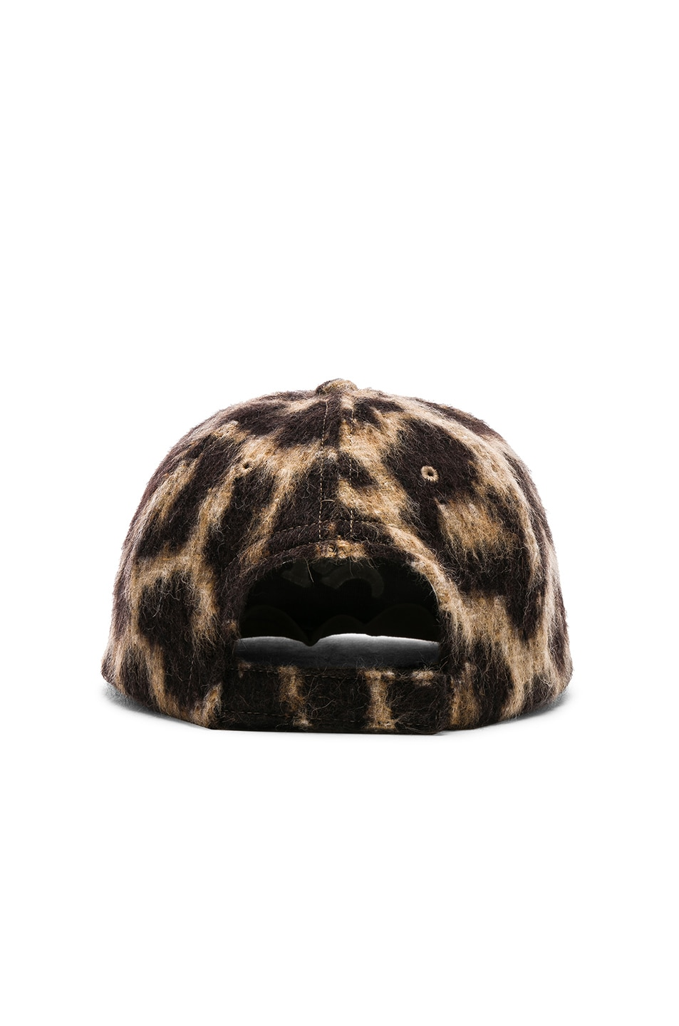 Image 4 of R13 Flat Brim Baseball Cap in Leopard