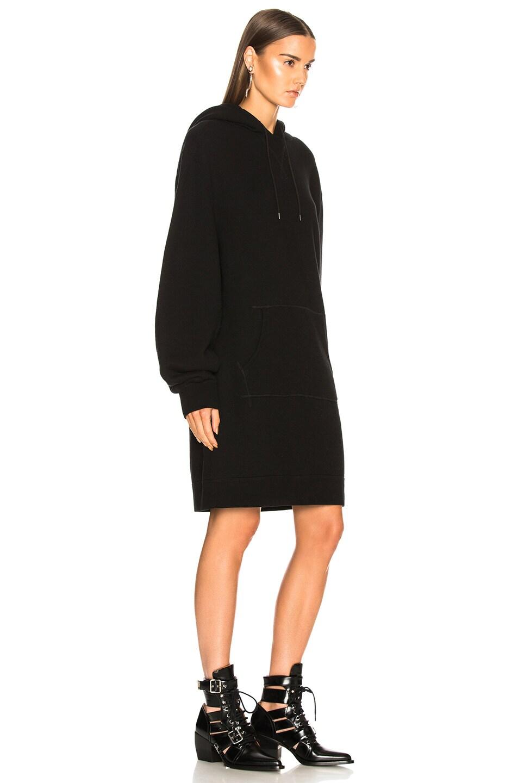 Image 3 of R13 Hoodie Dress in Black