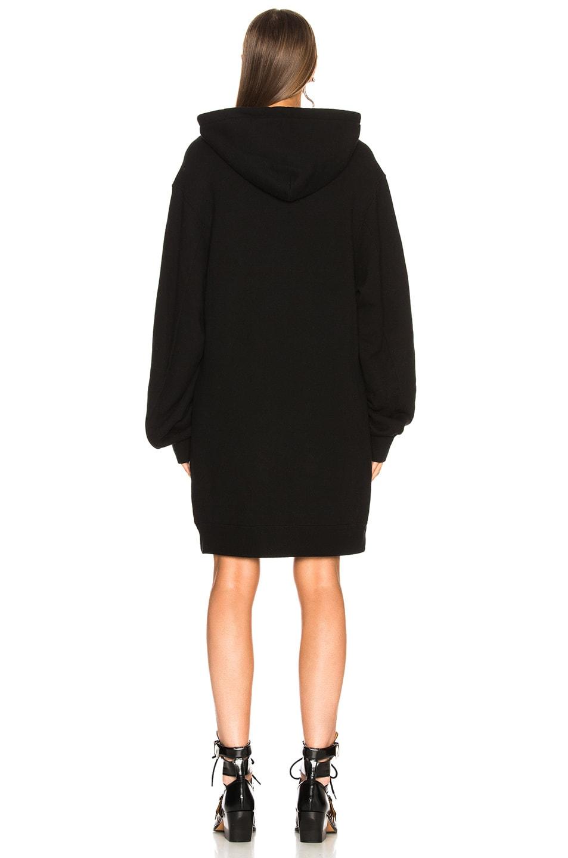 Image 4 of R13 Hoodie Dress in Black