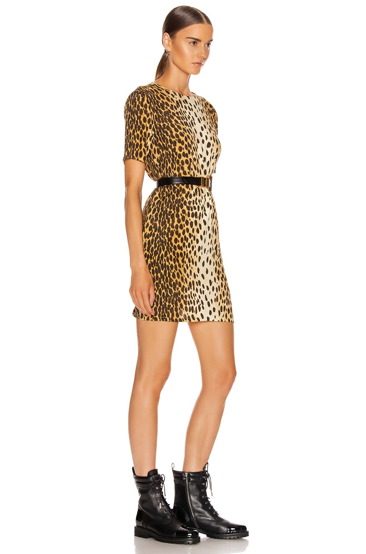 Image 2 of R13 Shift Dress in Cheetah