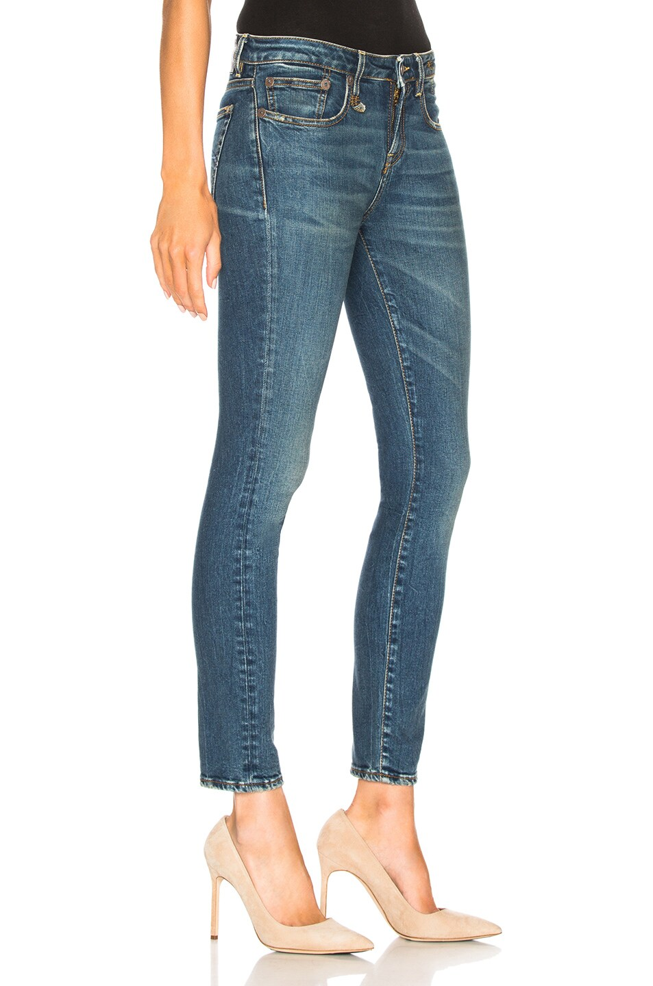 Image 2 of R13 Alison Skinny in Kinsley Stretch