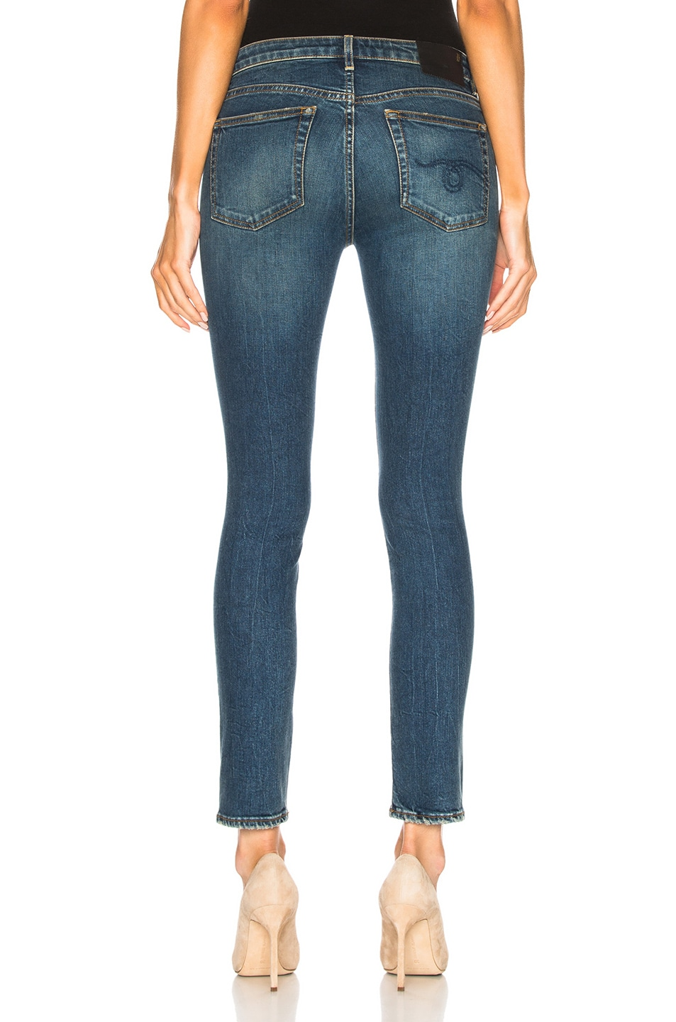 Image 3 of R13 Alison Skinny in Kinsley Stretch
