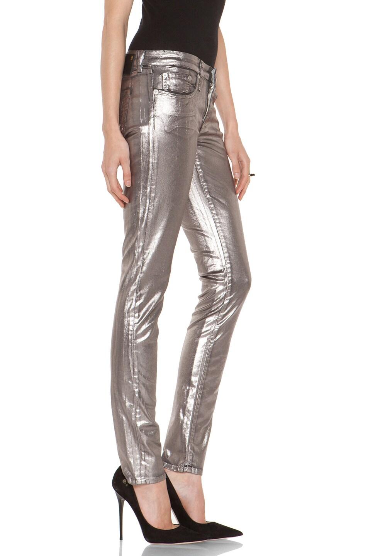 Image 3 of R13 Skinny in Silver