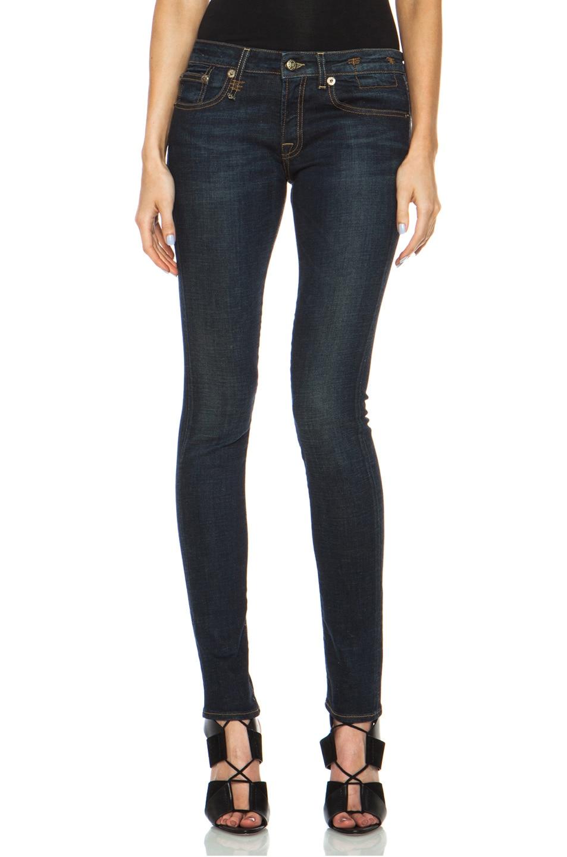 Image 1 of R13 Skinny Jean in Dark Indigo