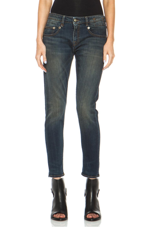 Image 1 of R13 Boy Skinny Jean in Vintage Dark