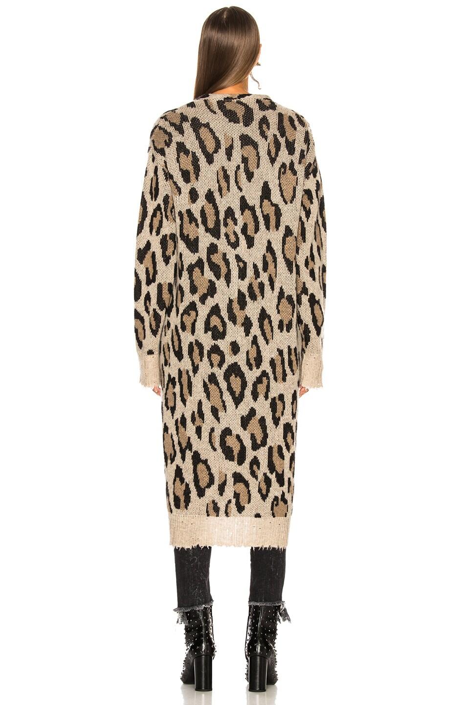 Image 5 of R13 Long Leopard Cardigan in Leopard