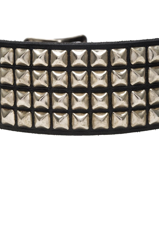 R13 Square Studded Choker in Black eFrrTZ1