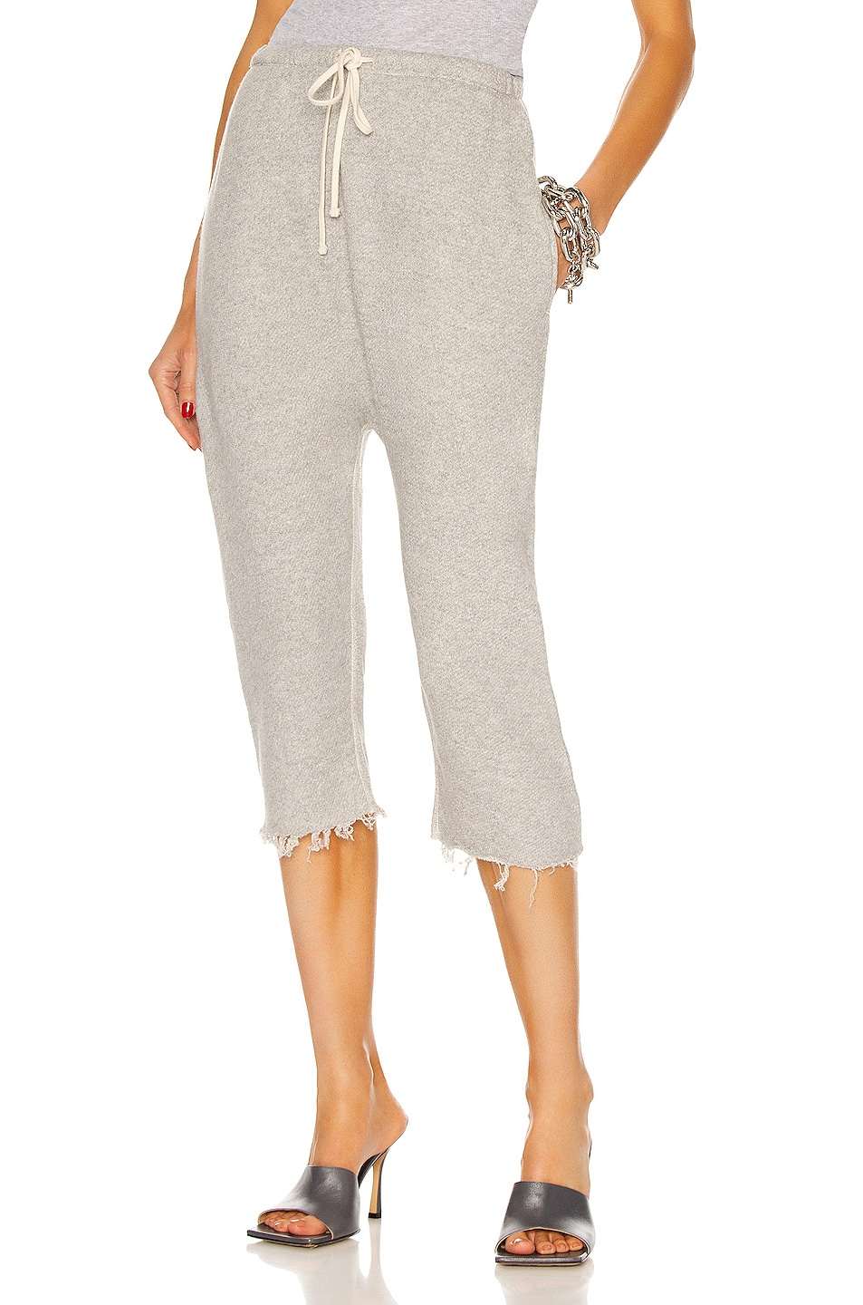 Image 1 of R13 Field Sweatpants in Heather Gray