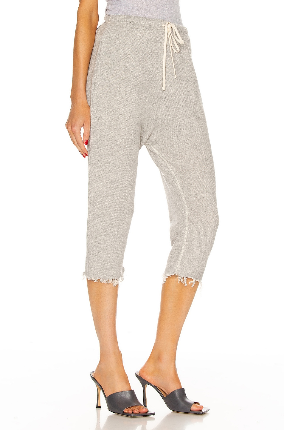 Image 2 of R13 Field Sweatpants in Heather Gray