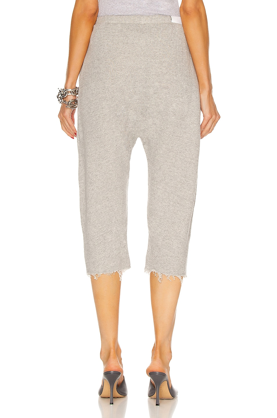 Image 3 of R13 Field Sweatpants in Heather Gray