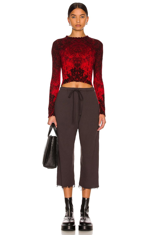 Image 4 of R13 Field Sweatpants in Vintage Black