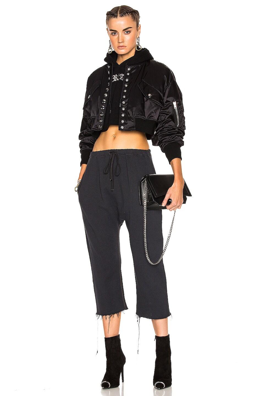 Image 5 of R13 Field Sweatpants in Vintage Black
