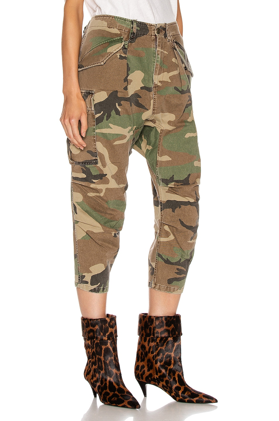 Image 2 of R13 Camo Cargo Pant in Camo