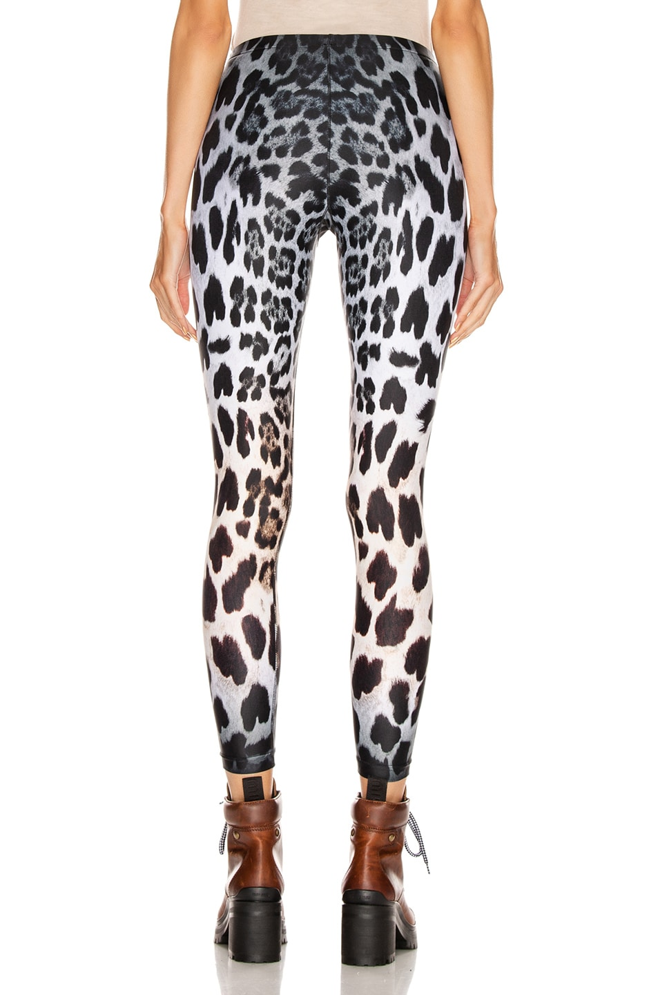 Image 3 of R13 Leopard Leggings in Faded Leopard