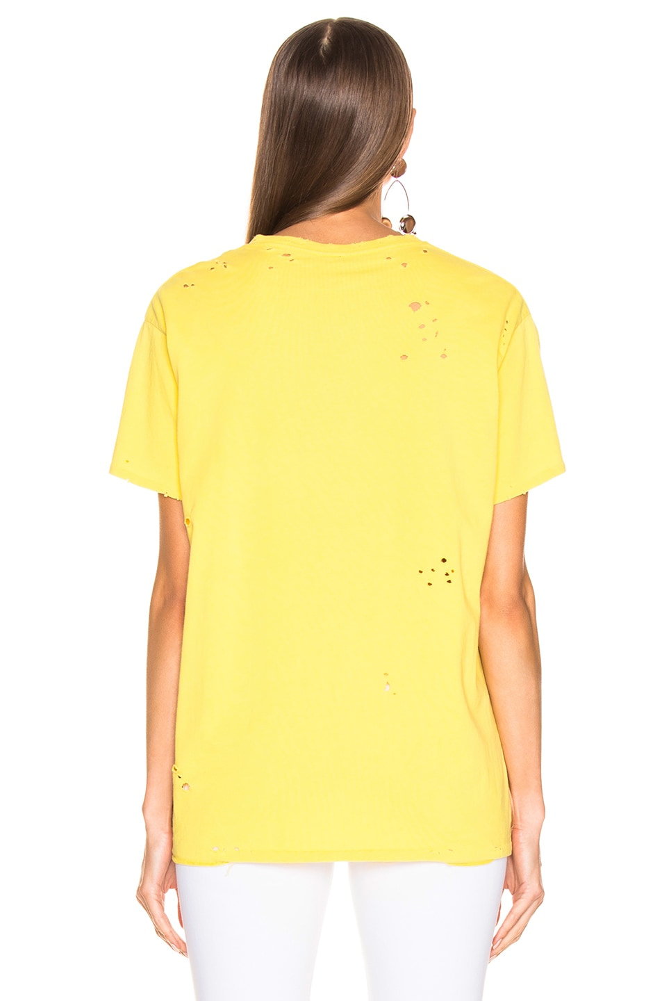 Image 3 of R13 Sonic Youth Boy Tee in Yellow