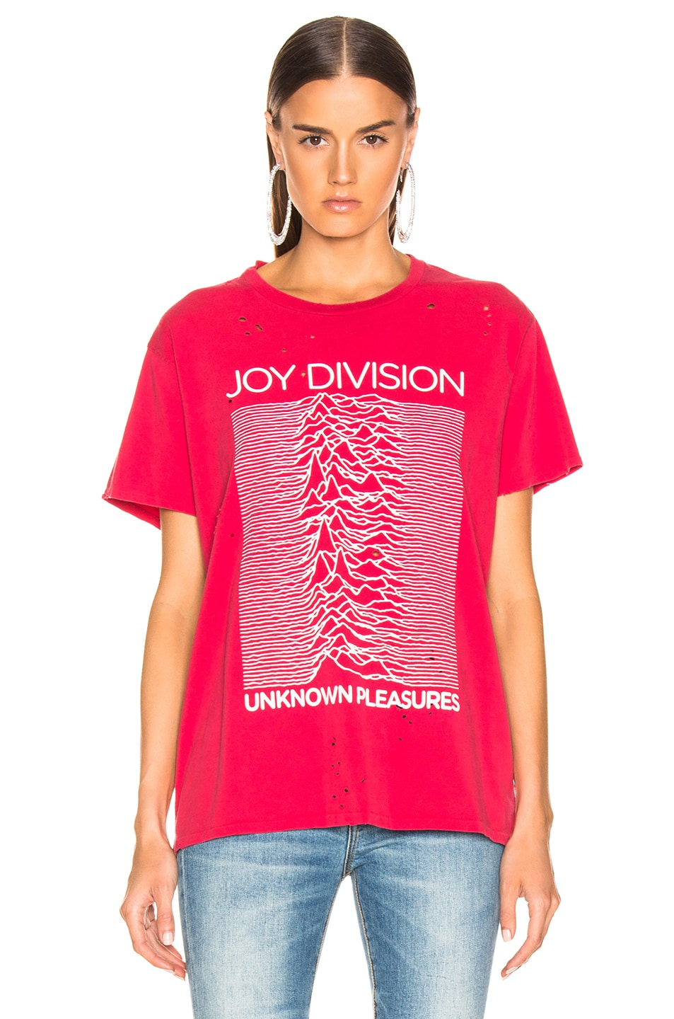 Image 2 of R13 Joy Division Boy Tee in Red