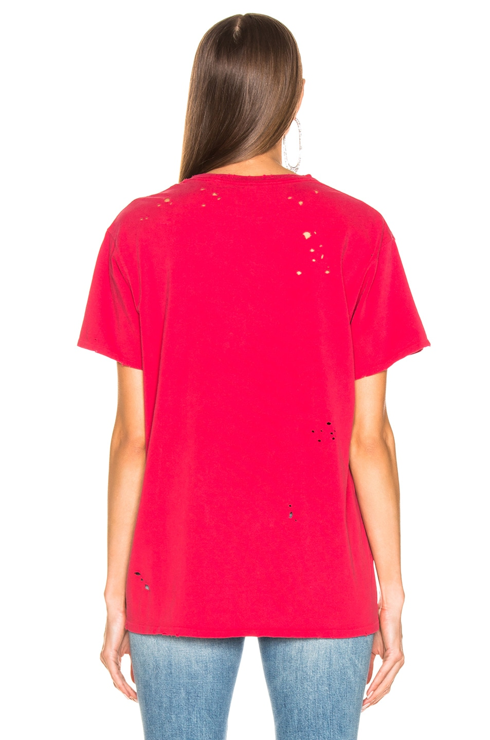 Image 4 of R13 Joy Division Boy Tee in Red