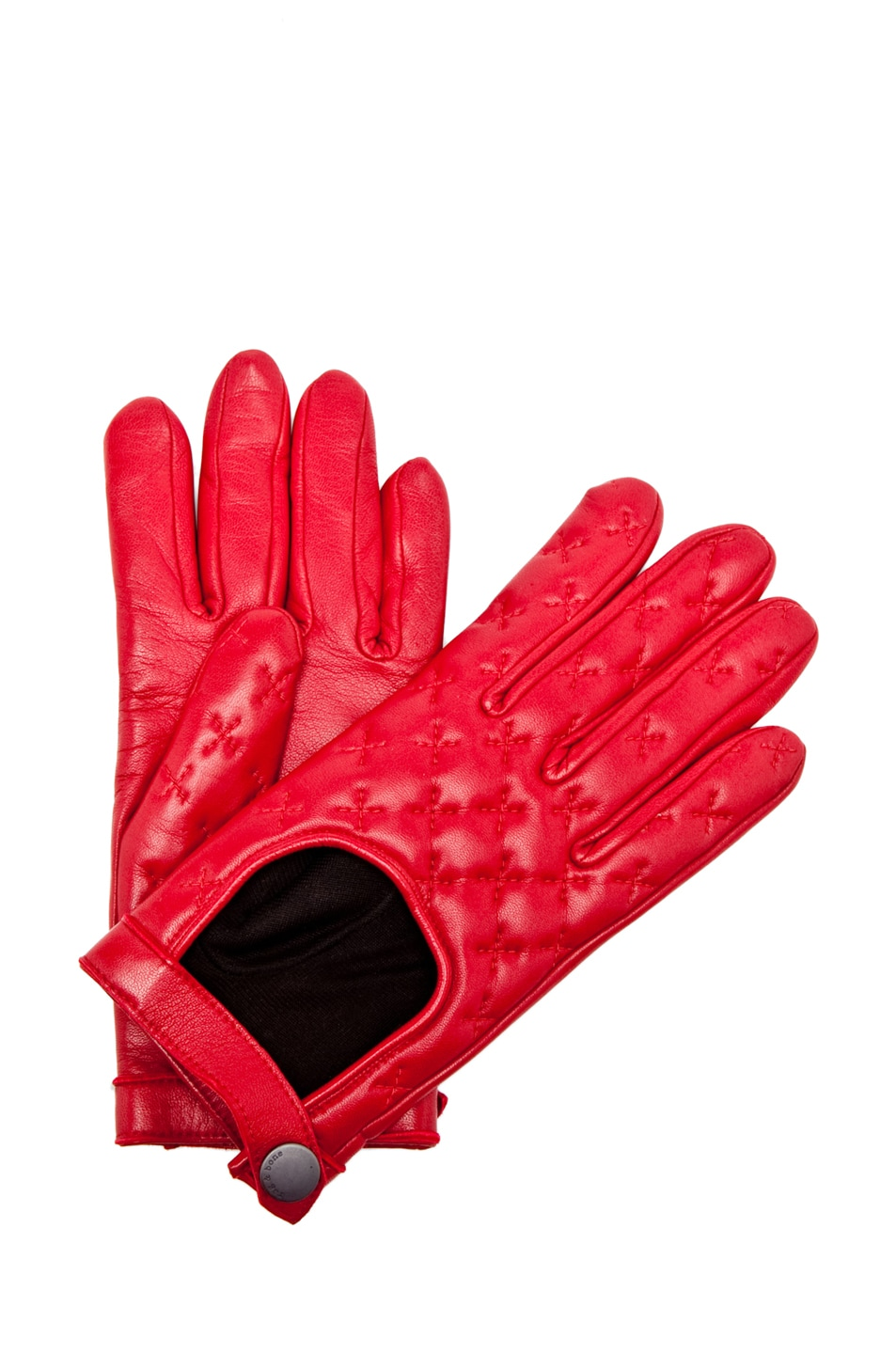 Image 1 of Rag & Bone Quilted Driving Glove in Sang