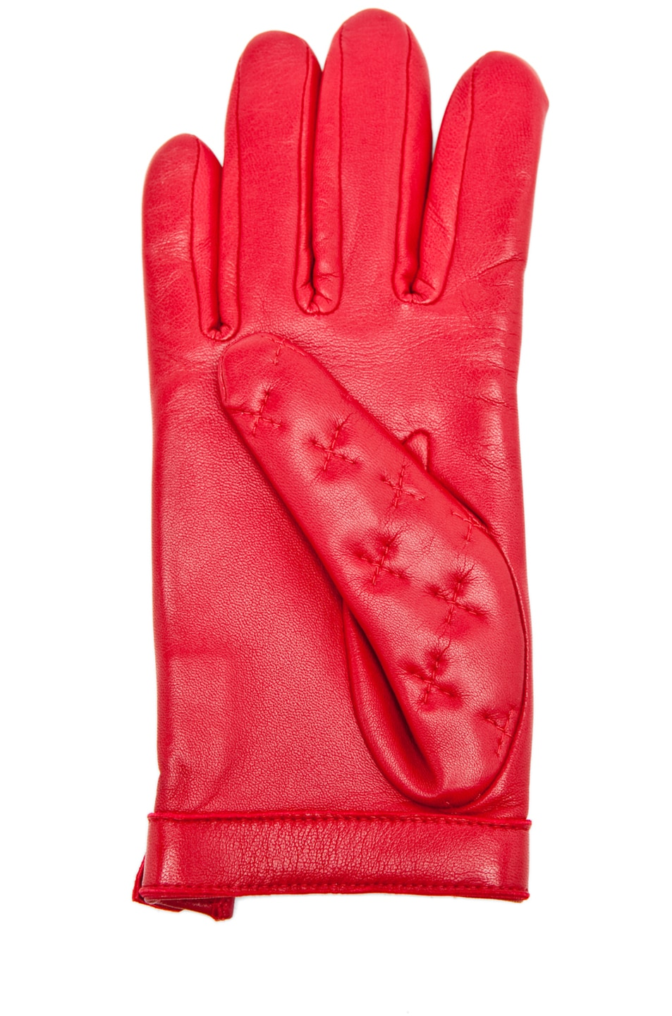 Image 3 of Rag & Bone Quilted Driving Glove in Sang
