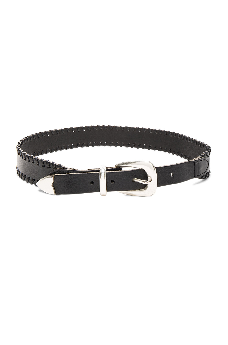 Image 1 of Rag & Bone McKenzie Belt in Black