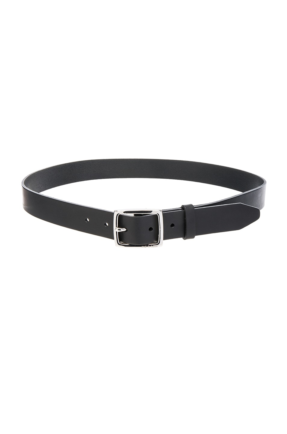 Image 1 of Rag & Bone Boyfriend Belt in Black