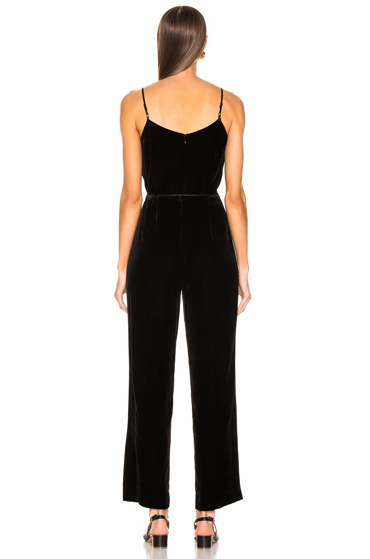 Image 3 of Rag & Bone Jamie Velvet Jumpsuit in Black