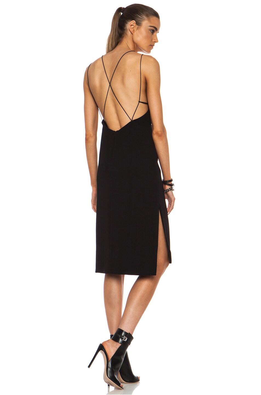 Image 1 Of Rag Bone Division Triacetate Blend Dress In Black