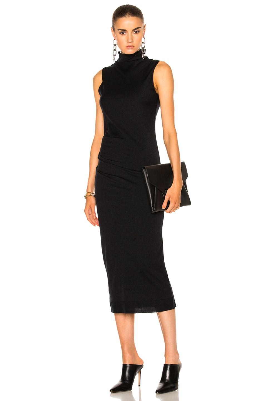 Image 1 of Rag & Bone Francis Dress in Black