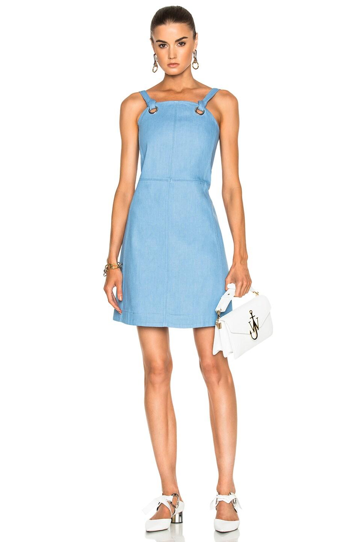 Image 1 Of Rag Bone Suffolk Dress In Pale Blue