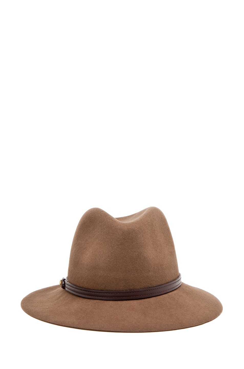 Image 2 of Rag & Bone Floppy Brim Fedora in Pecan