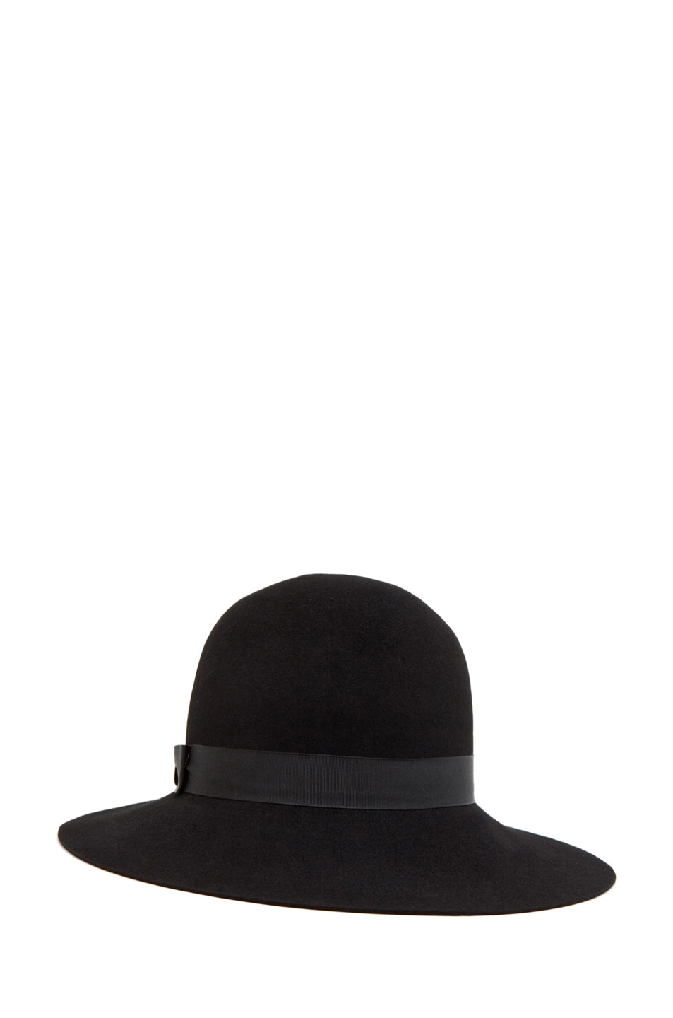 Image 2 of Rag & Bone Robinson Hat in Black