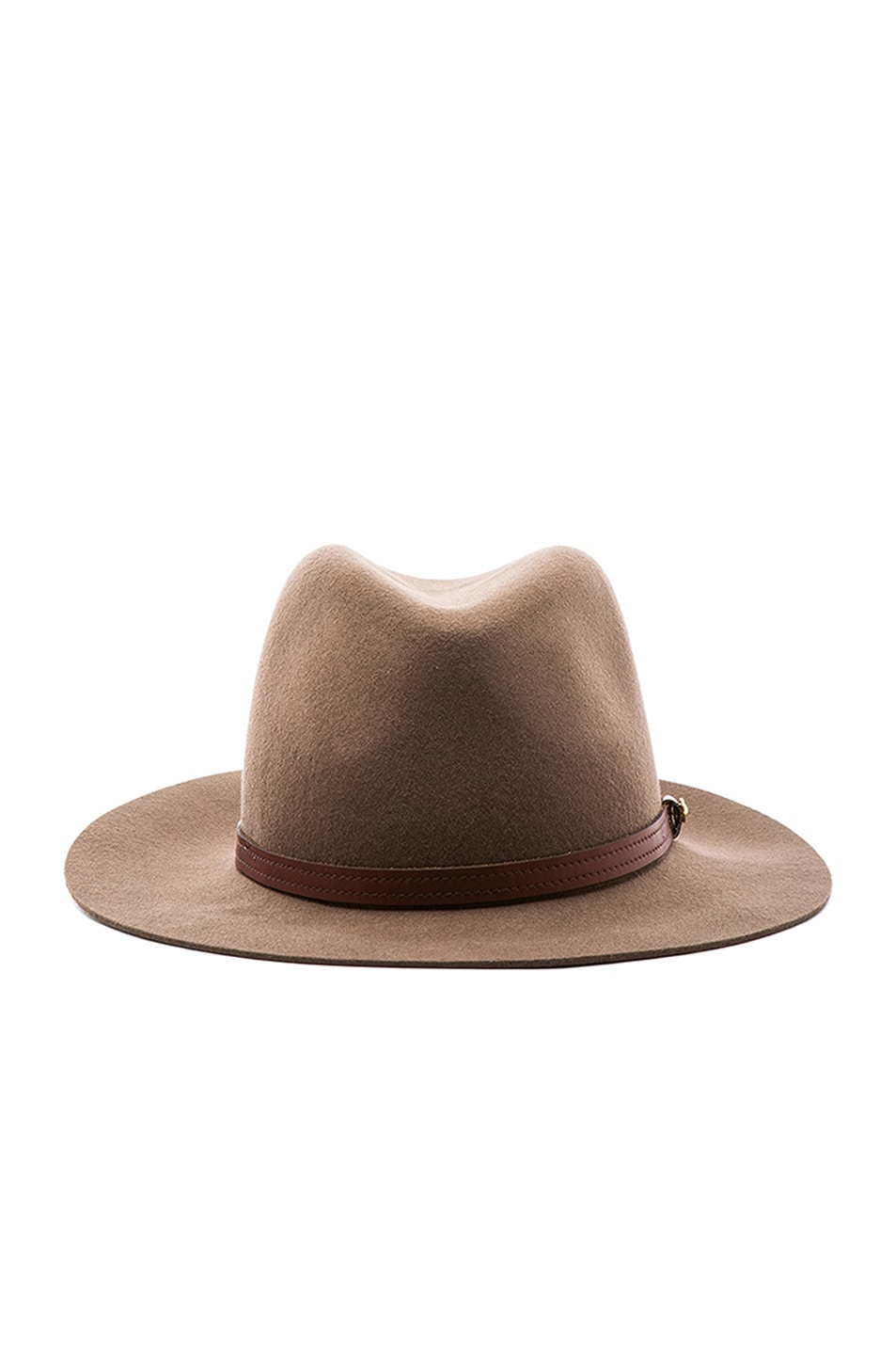 Image 1 of Rag & Bone Floppy Brim Fedora in Pecan