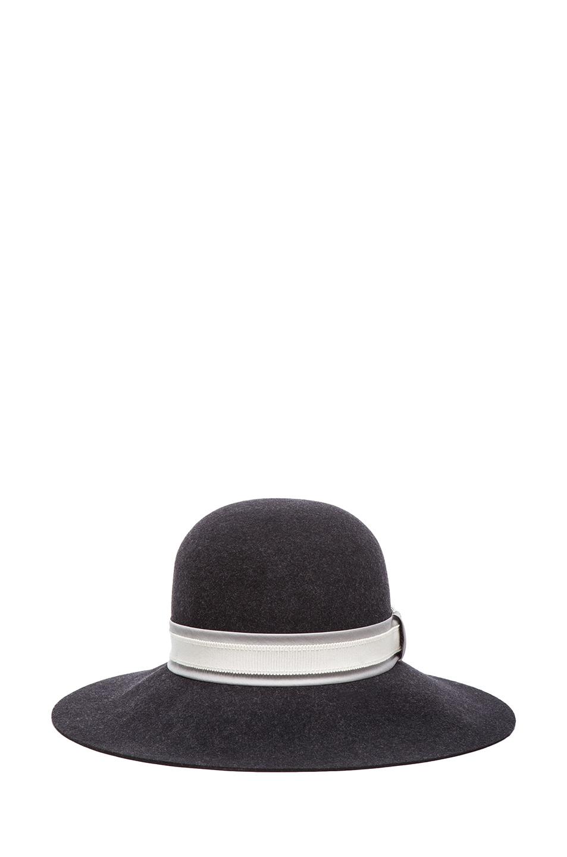 d936ad2fa09 Image 1 of Rag   Bone Dunaway Hat in Black Mix