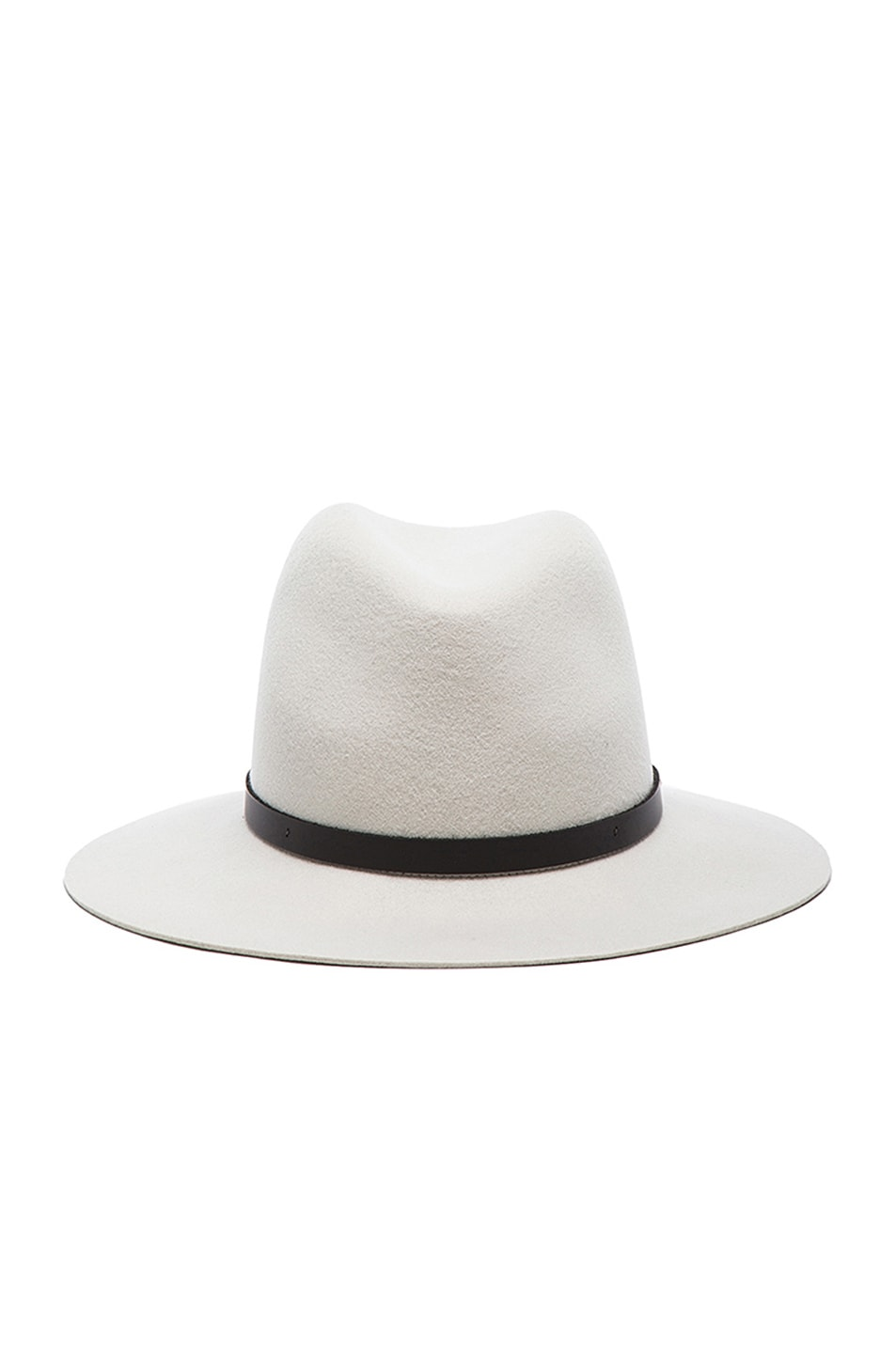 Image 1 of Rag & Bone Floppy Brim Fedora in Alpine White