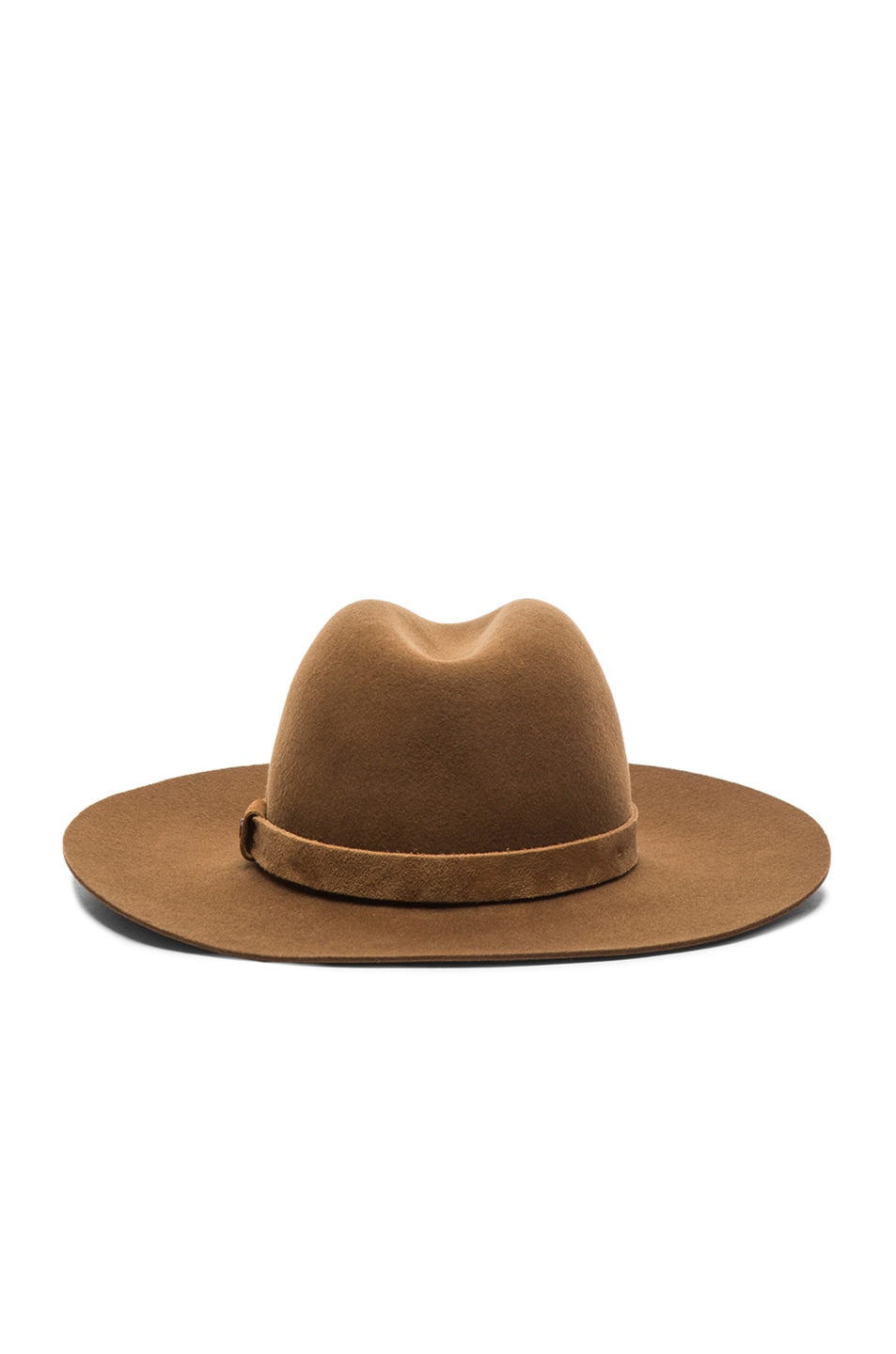 Image 4 of Rag & Bone Wide Brim Fedora in Ermine