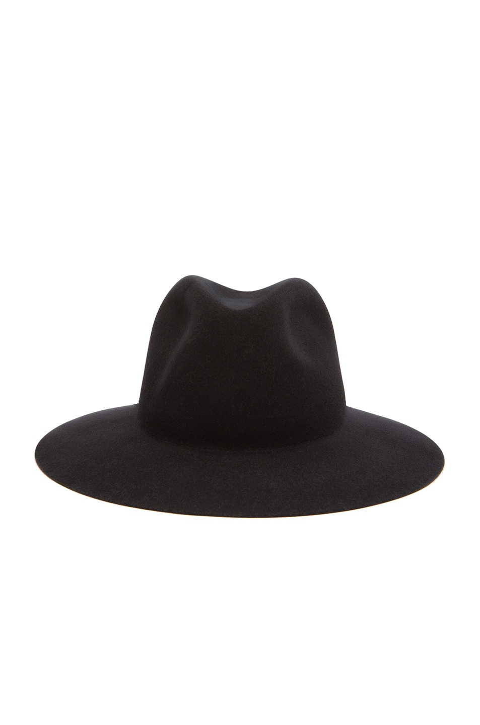 Image 1 of Rag & Bone Range Fedora Hat in Black