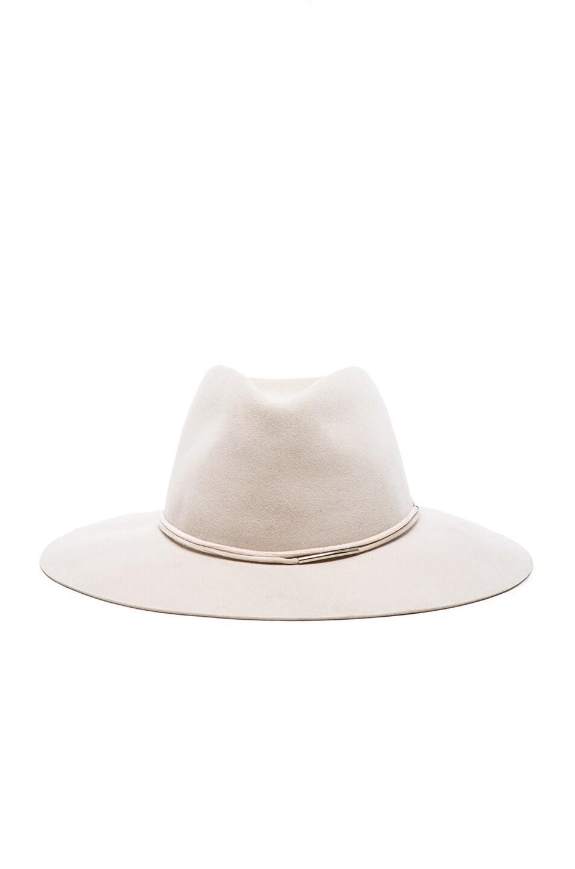 Image 1 of Rag & Bone Range Fedora Hat in Beige