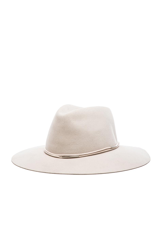 Image 2 of Rag & Bone Range Fedora Hat in Beige