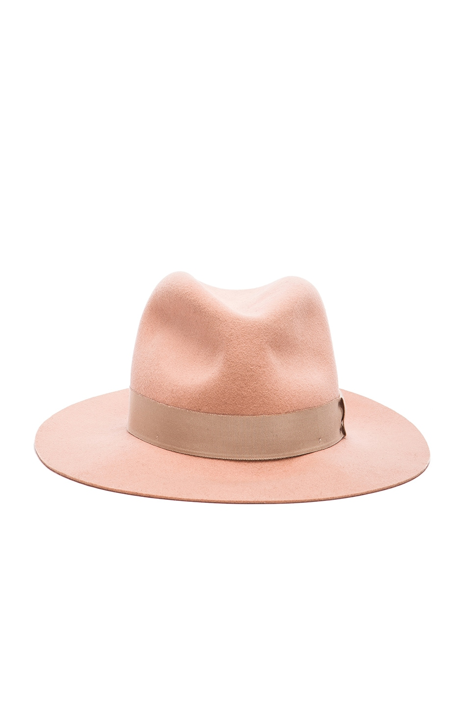 Image 1 of Rag & Bone Floppy Brim Fedora Hat in Cork