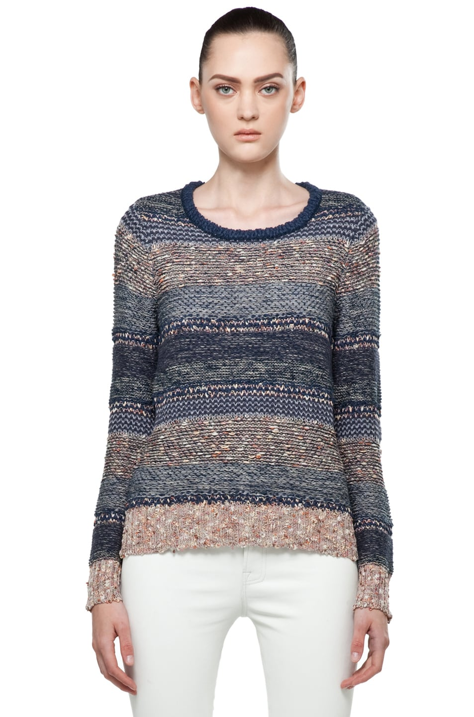 Image 1 of Rag & Bone Greta Sweater in Navy