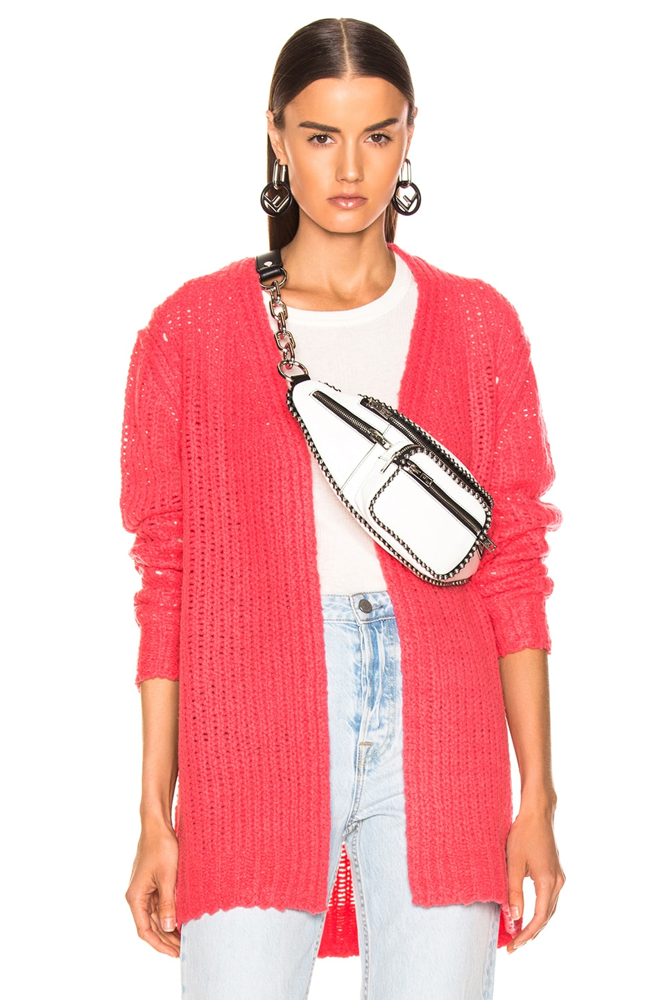 Image 1 of Rag & Bone Arizona Cardigan in Pink